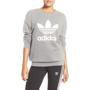 Adidas Originals Trefoil Crewneck Sweatshirt XS